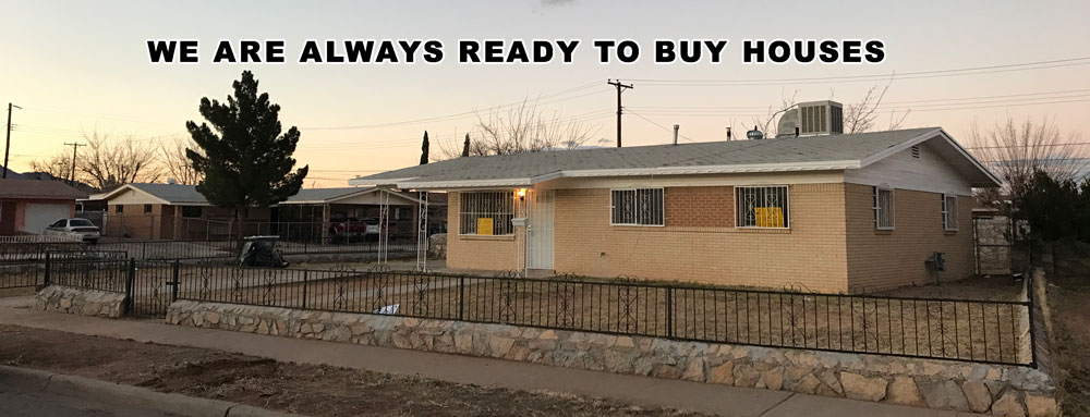 Sell my house fast in El Paso TX